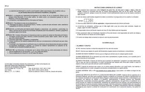 INDICACIONES DE LLENADO 911